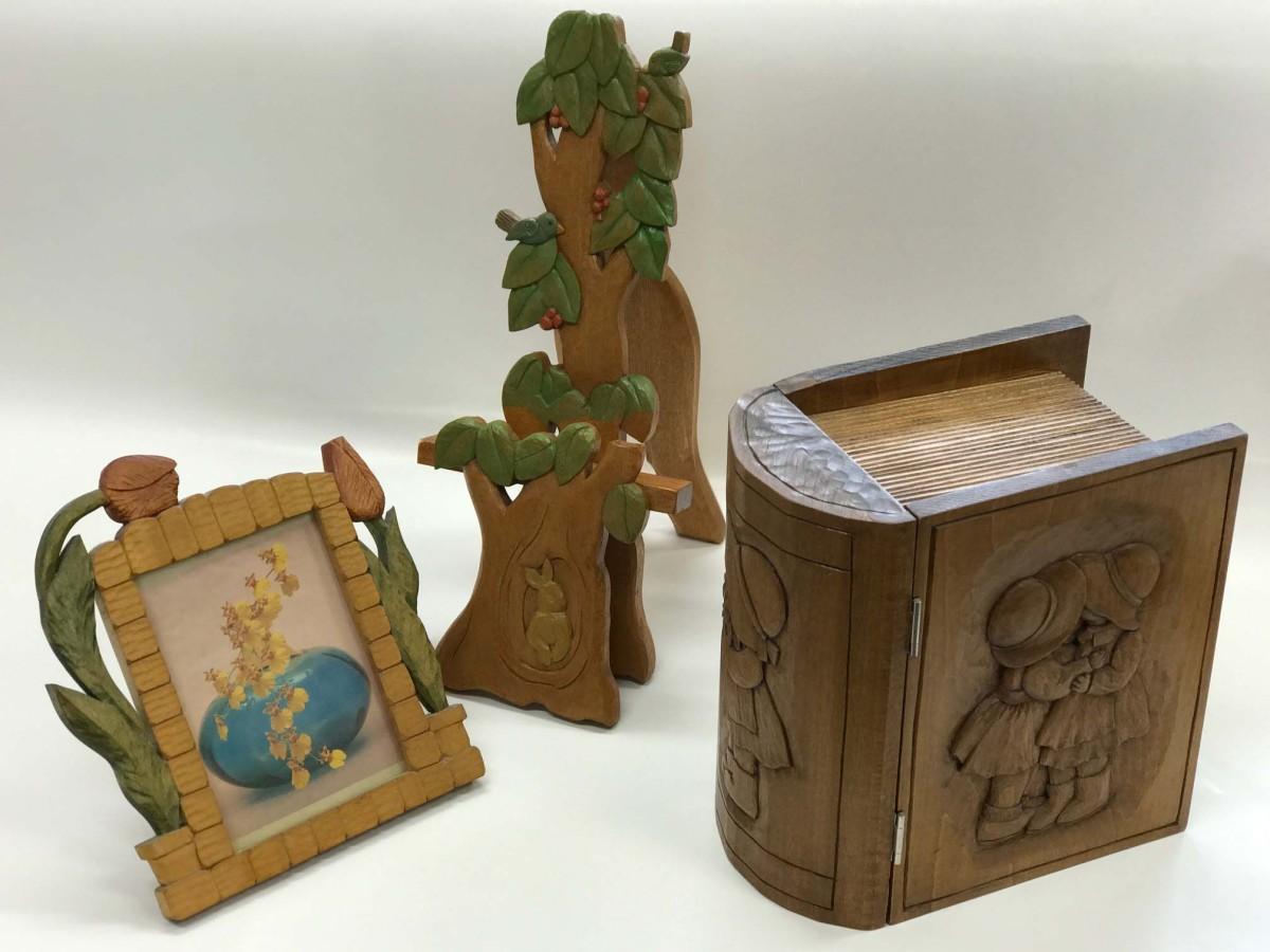 趣味の木彫